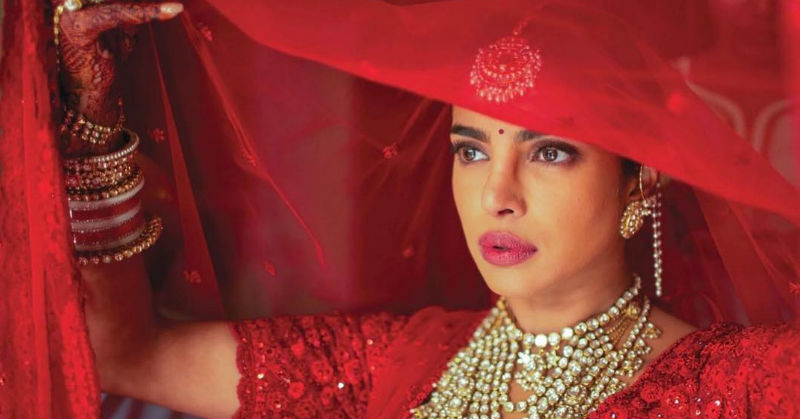 The True Meaning Behind Priyanka Chopra's Bridal Bindi