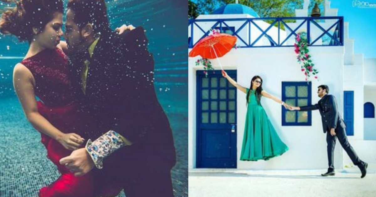 29 Pre-Wedding Shoots Of 2018 That Were All Things Unique & Romantic!
