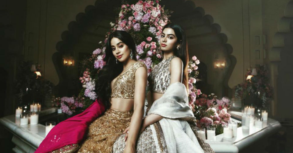 The Ambani Wedding: The Kapoor Sisters That Stole The Show With Their Lehengas!
