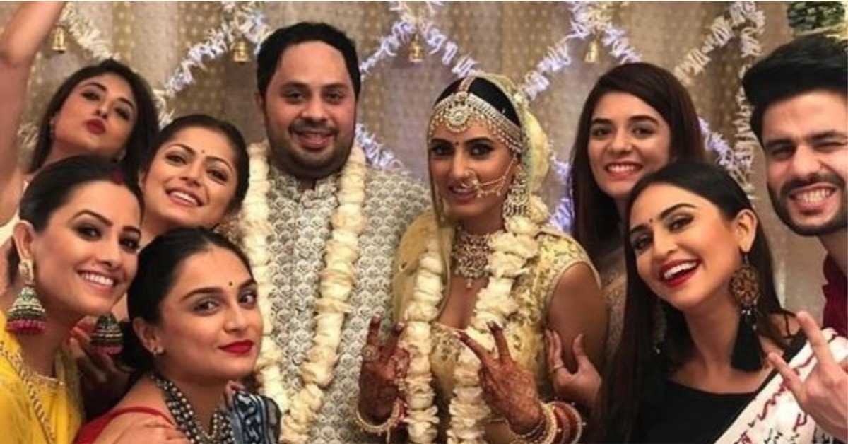 Ishqbaaaz Fame Additi Gupta Tied The Knot & It Was The TV Reunion We Were Waiting For!