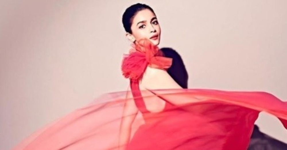 Alia Bhatt Is Having A Cinderella Moment in Her Coral Gown, And We Want It For New Year's Eve!