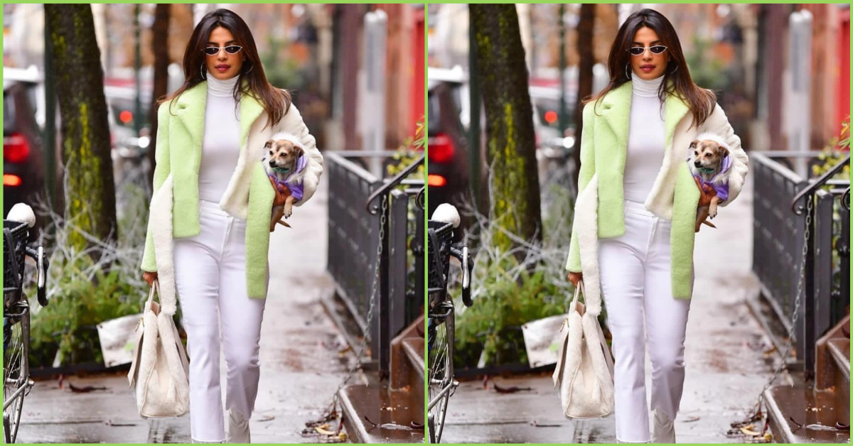 The Internet Can't Get Over Priyanka's Latest Pic With Her Dog And We Know Why!