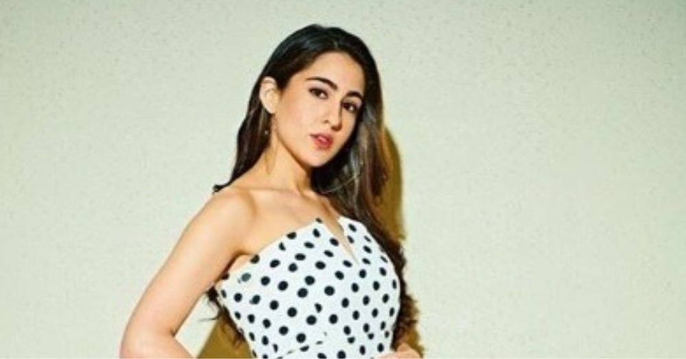 Sara Ali Khan Is All About *Attention To Detail* And This Polka Dot Dress Is Proof