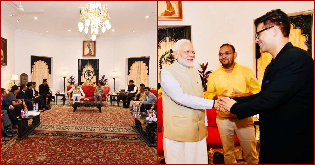PM Narendra Modi Met An All-Male Bollywood Group & Why Are We Not Surprised?