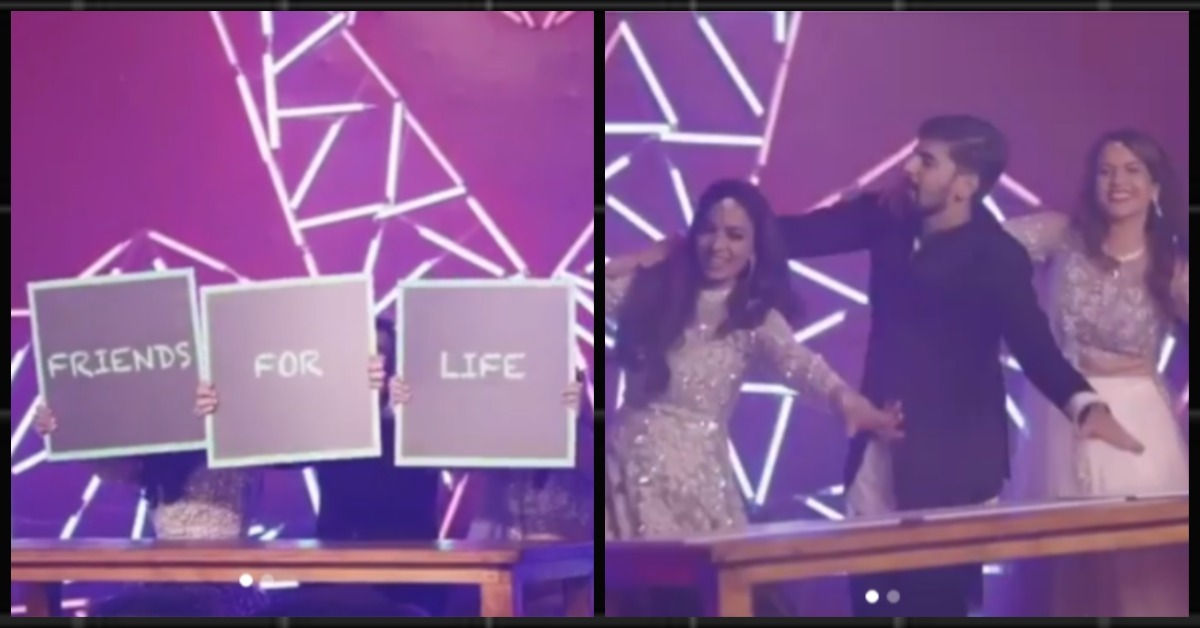 This Bride & Her Besties' Dance Proves That Friends Hain Toh You'll Always Be Alright!