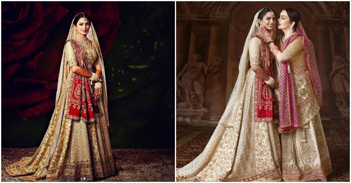 The Making Of Isha Ambani's Wedding Outfits: Here's What Goes Into Dressing Up A Princess!