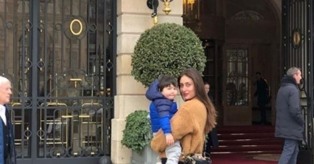 Kareena Kapoor Khan Is The Cool Mom Who Has Her Paris-Girl Style On-Point!
