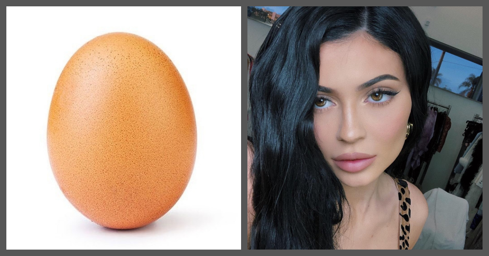 Move Over, Kylie Jenner! This Egg Steals The Title Of 'Most Liked' Picture On Instagram