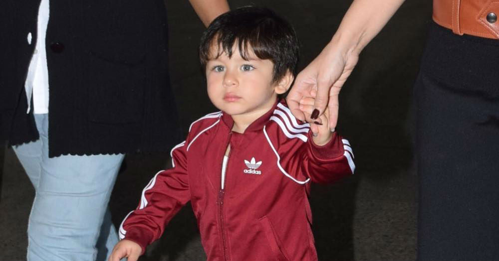 Baby Boy Taimur In A Luxurious Tracksuit Is The Most Adorable Thing On The Internet RN