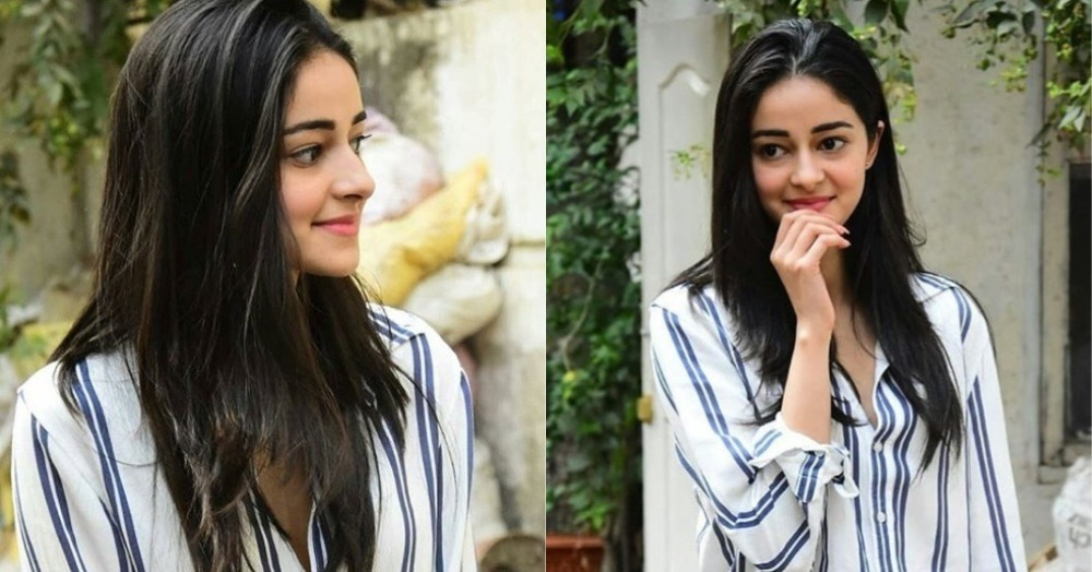 Ananya Panday Stepped Out In The Perfect *Girl Next Door* Outfit And You Might Already Own It!