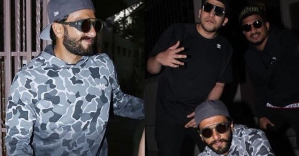 Gully Boy Ranveer Singh Is Ready To Raise The Roof With His New *Rapper* Look!