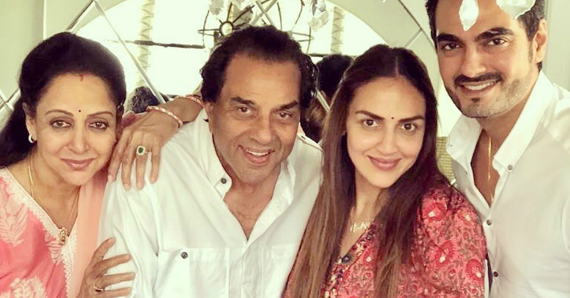 Hema Malini & Dharmendra's Reaction To Esha Deol's Baby No. 2 Is Every Nani-Nanu EVER!
