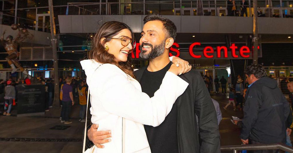 Sonam's Sporty Date Night With Anand Called For A Perfect All-White OOTD!