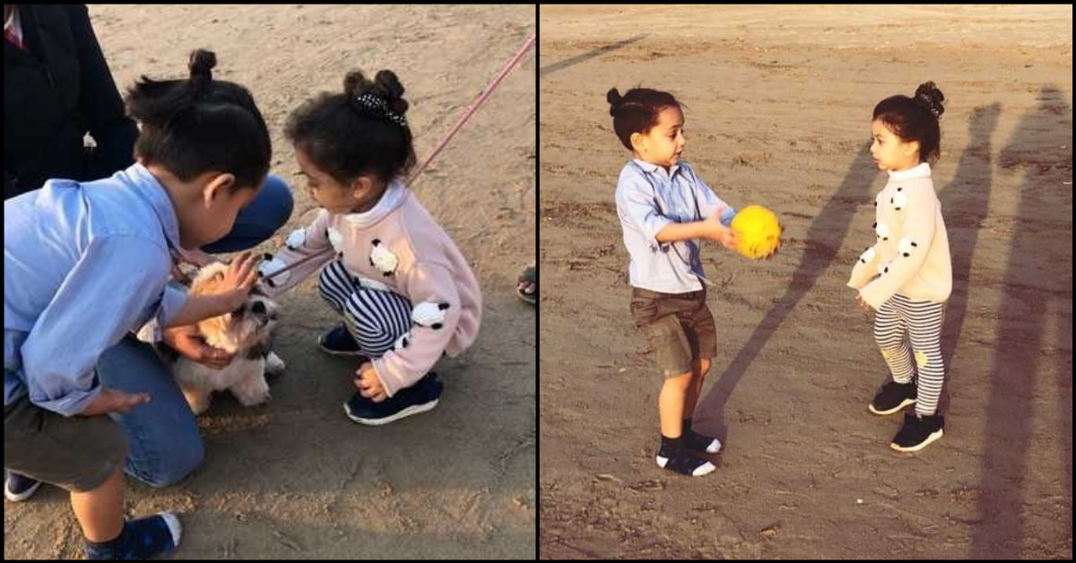 Dear God, Please Let Us Join This Play Date With Misha Kapoor And The Cute Little Doggo