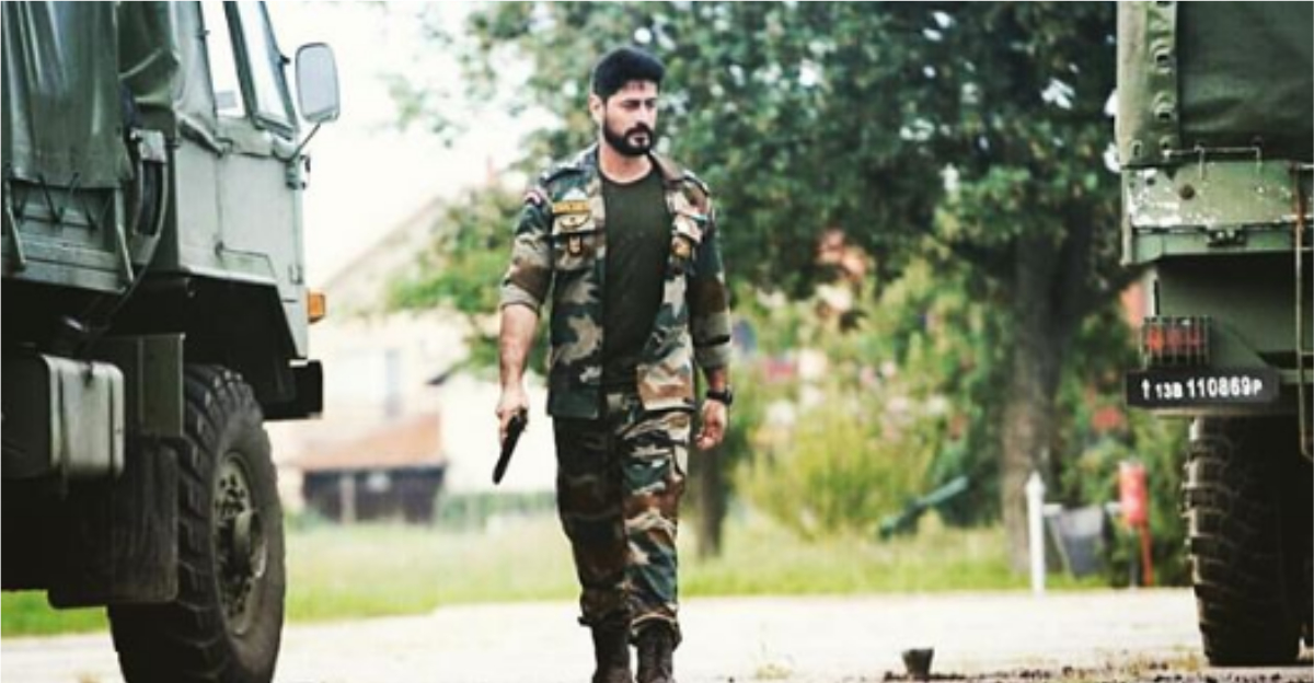 Mahadev Mohit Raina Fulfilled His Dream Of Joining The Army With Uri