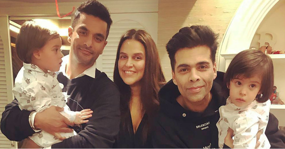 We Bet You Didn't Know Karan Johar's Twins & AbRam Had This Connection!