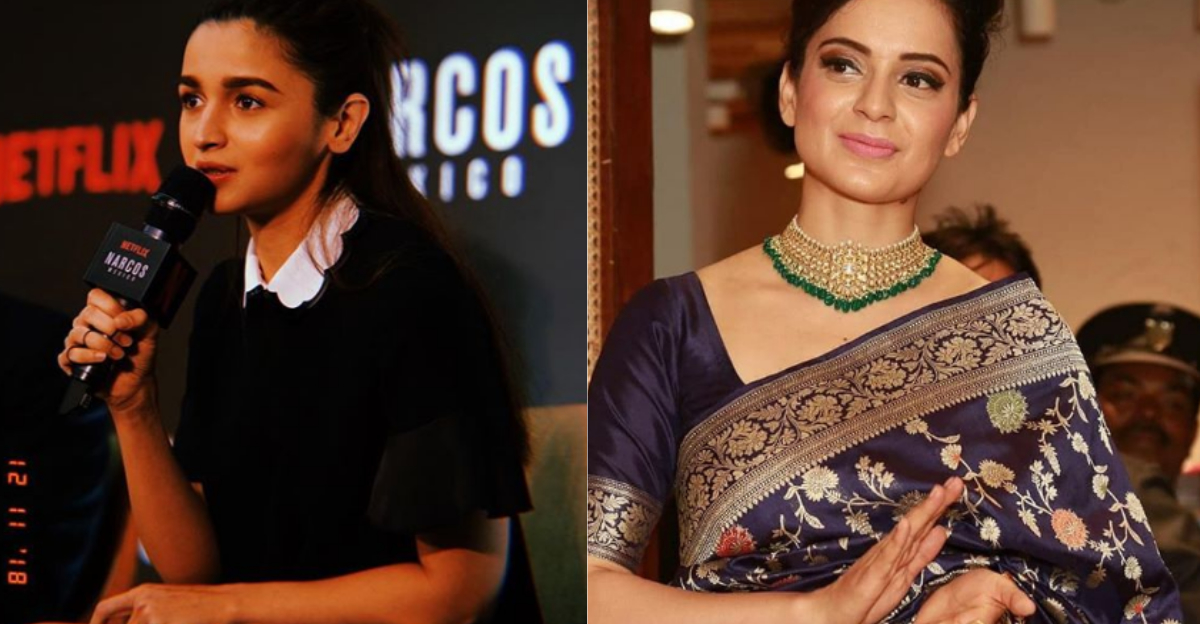 'Her Existence Is All About Being KJo's Puppet': Kangana Ranaut Responds To Alia Bhatt's Apology