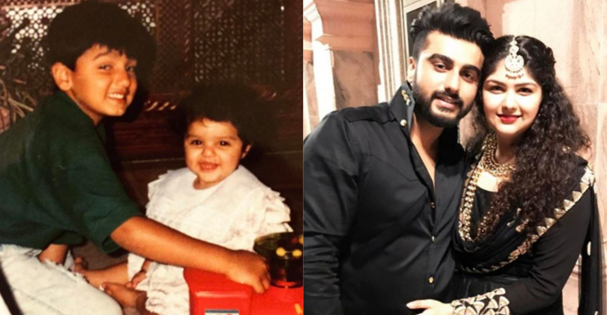 Arjun Kapoor's Surprise For Sister Anshula On Valentine's Day Is #SiblingGoals