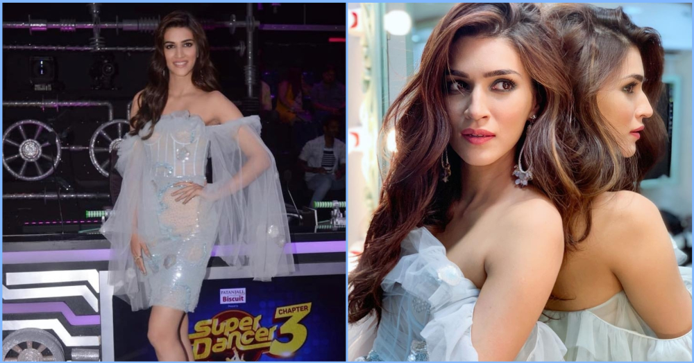 Kriti Sanon Channels Her Inner *Elsa* In This Icy Blue Attire And We're *Frozen*