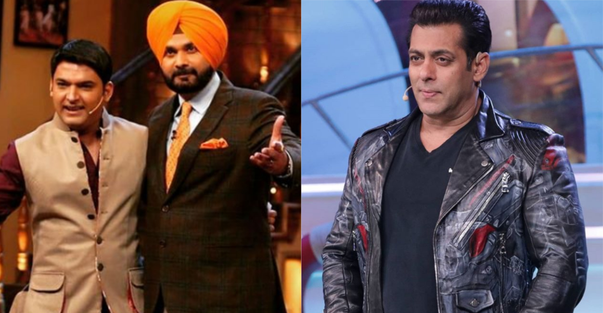 Navjot Singh Sidhu To Return To 'The Kapil Sharma Show' With The Help Of Salman Khan