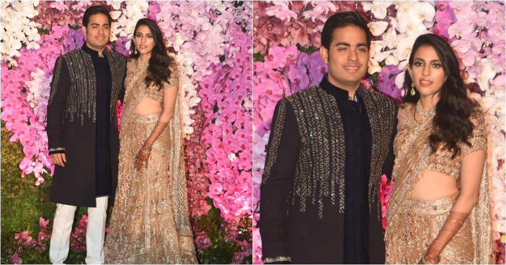 Akash Ambani And Shloka Mehta Hosted A Post-Wedding Party And They Looked Like Royalty!