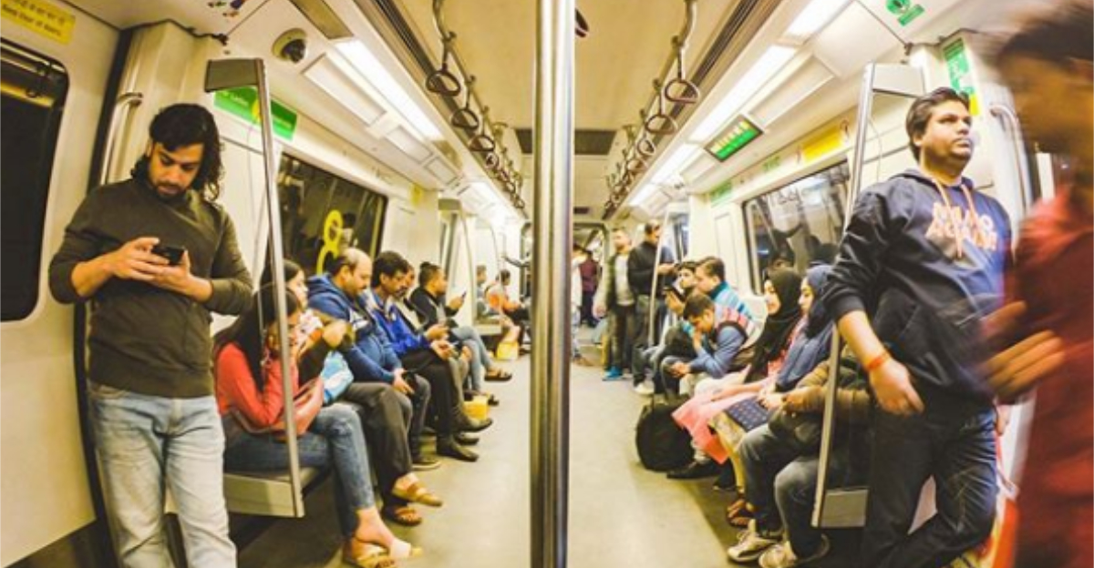 40 Thoughts I Bet EVERYONE Has While Travelling In A Delhi Metro