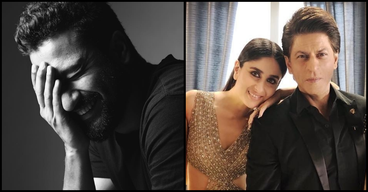 Vicky Kaushal Reveals That He Hid At SRK's House Because Of Kareena Kapoor!