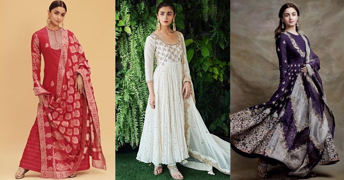 Oh-So-Shaandaar: Alia Bhatt's Summery Suits For Kalank Promotions Are *Ishq* At First Sight!