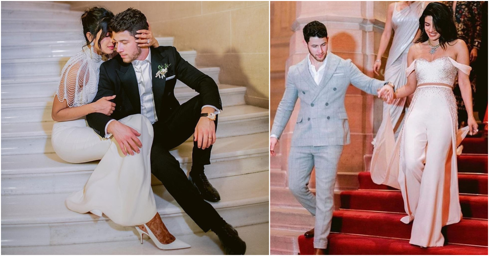 Super Hubby Alert! Nick Jonas Saves Wifey Priyanka Chopra From Falling Down The Stairs