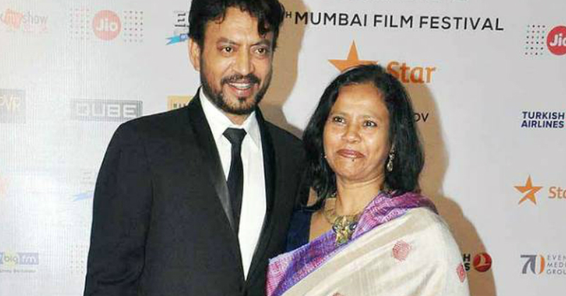 Irrfan Khan's Wife Pens An Emotional Letter About His Recovery