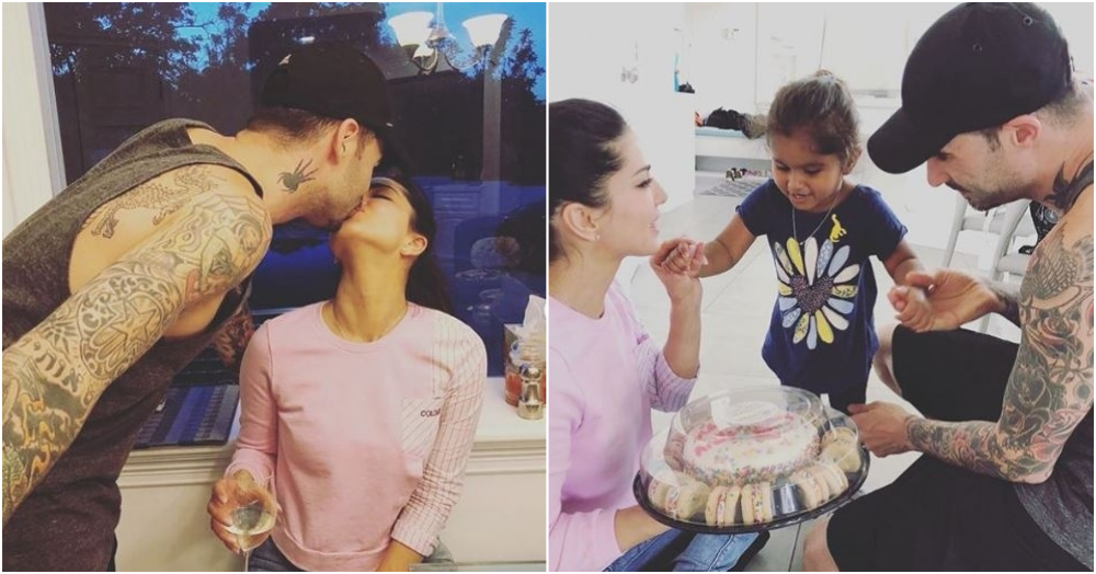 Sunny Leone & Daniel Weber's Daughter Prepared The *Sweetest* Anniversary Surprise For Them