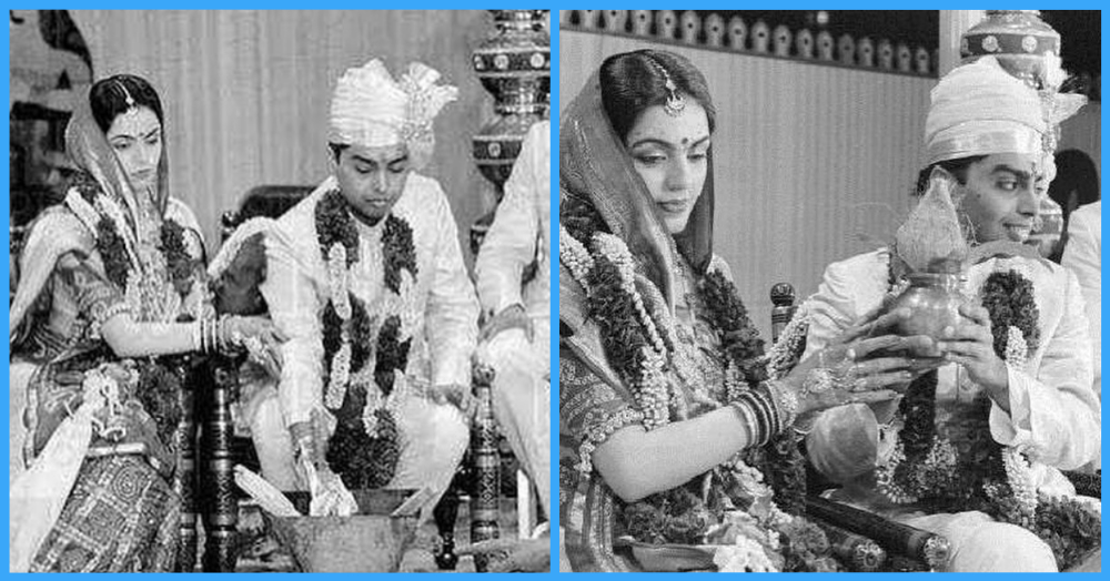 These Unseen Pictures From Nita Ambani & Mukesh Ambani's Wedding Prove They're A Match *Made In Heaven*