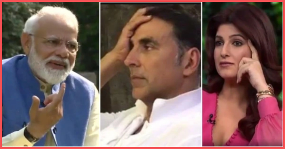 Here's Why PM Modi's Comment About Akshay Kumar & Twinkle Khanna's Marriage Is Trending