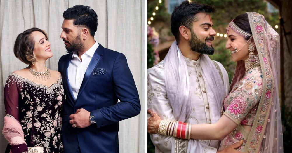 Six Pe Six: 7 Bollywood Actresses Who Married Cricketers & Inspired Us With Their Love Stories!