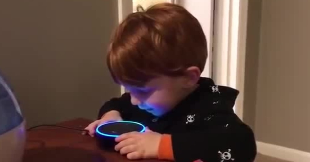 Not 'Mummy' Or 'Daddy', This One-Year-Old's First Word Was 'ALEXA!'