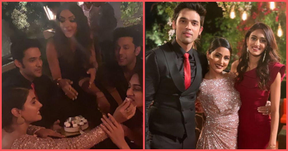 Tussi Jaa Rahe Ho? Pictures From Hina Khan's Farewell Parties Have Us Hoping She Stays