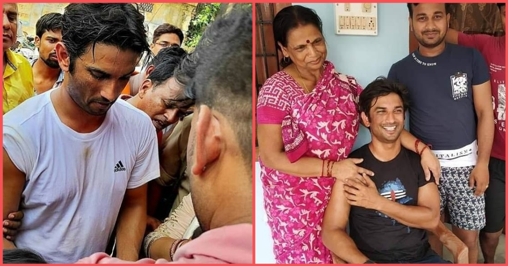 Sushant Singh Rajput Got A *Shudh Desi Swagat* When He Visited His Hometown After 17 Years