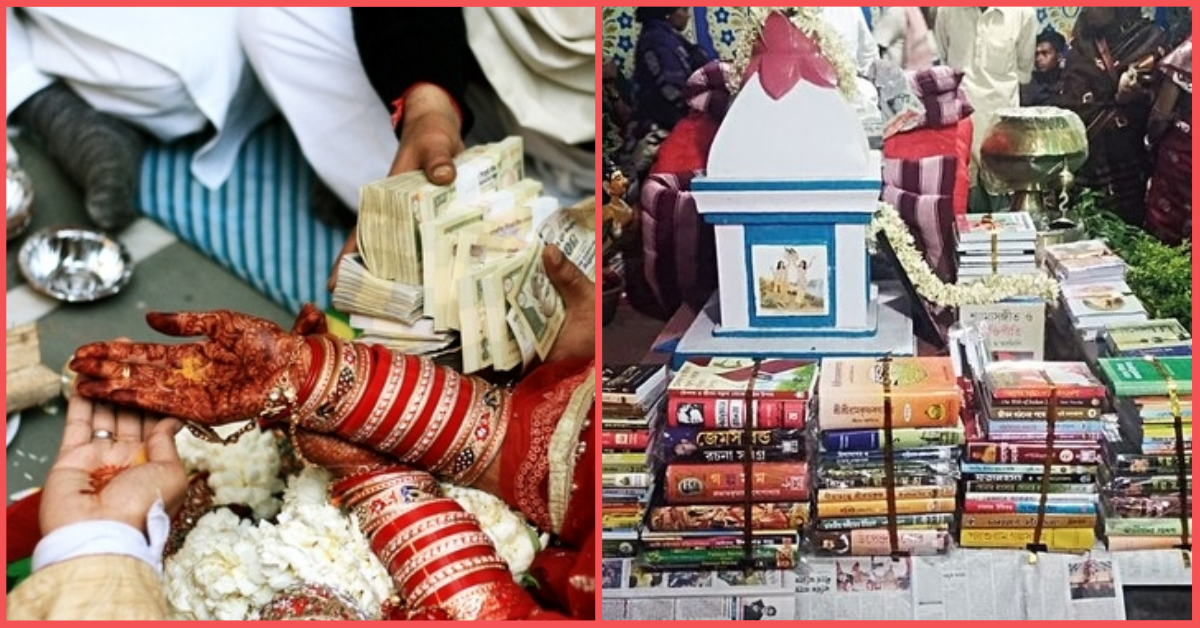 This Bride's Family Gave 1000 Books Worth Rs 1 Lakh To The Groom After He Refused Dowry