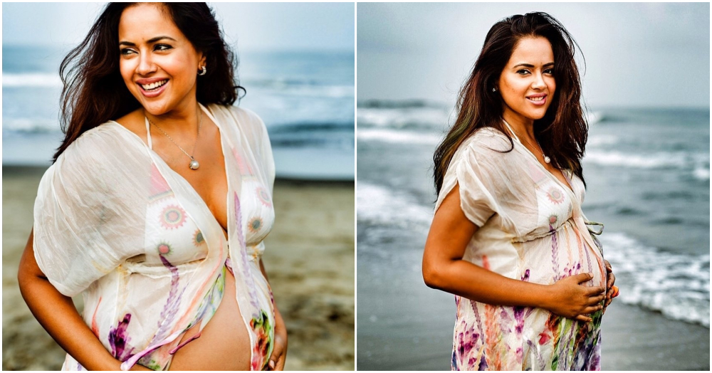 Sameera Reddy Gives A Befitting Reply To Netizens Trolling Her For Flaunting Her Baby Bump