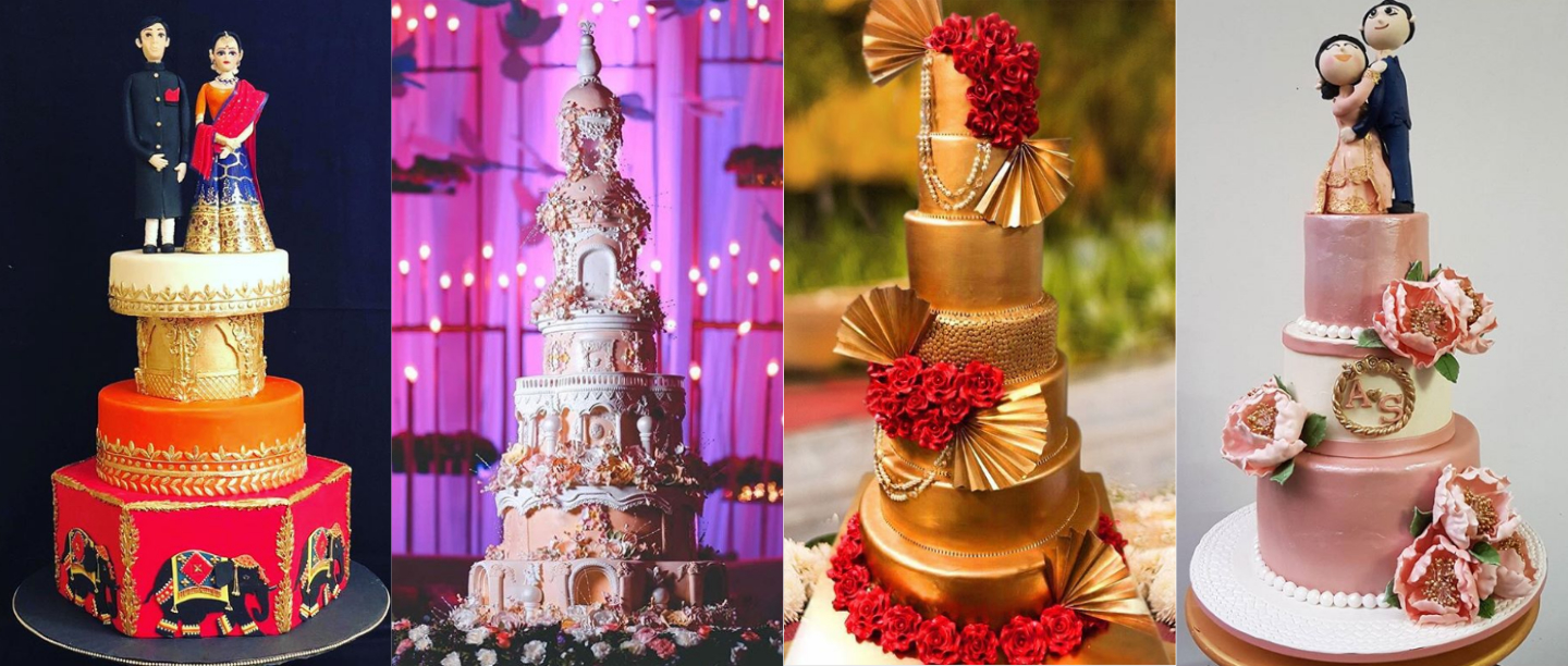 These Fabulous Bakeries In & Around Delhi Will Make Your *Dream* Wedding Cake Come Alive