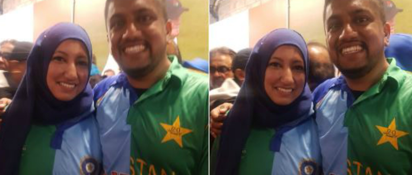 World Cup 2019: This Cute Couple Supported Both India & Pakistan In A Unique Way