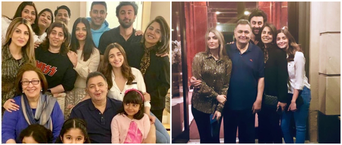 Alia Bhatt Was Photographed With The Bachchans & The Kapoors But Aradhya Stole The Show!
