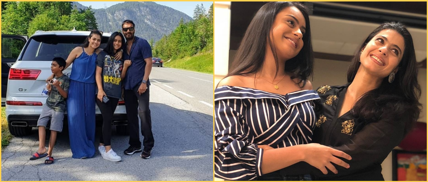 Nysa Devgan Is All Smiles In This Family Picture Shared By Mom Kajol
