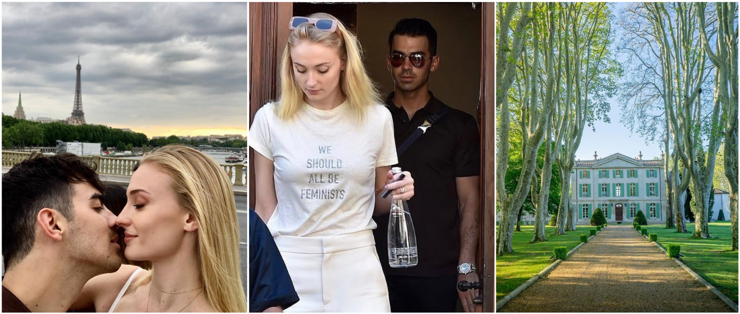 Sophie Turner & Joe Jonas Arrive At The French Château Wedding Venue To Say 'I Do' Again