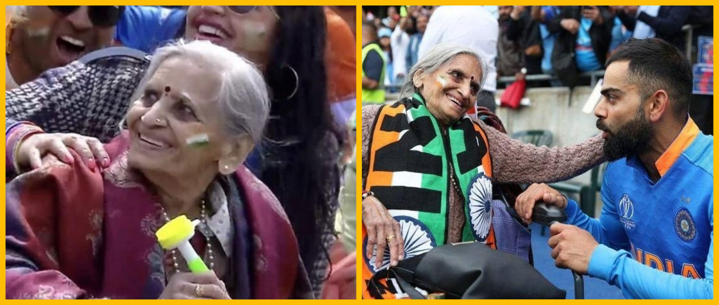 Meet Charulata Patel, The 87-Year-Old True-Blue Cricket Fan Who Has Left India Stumped!