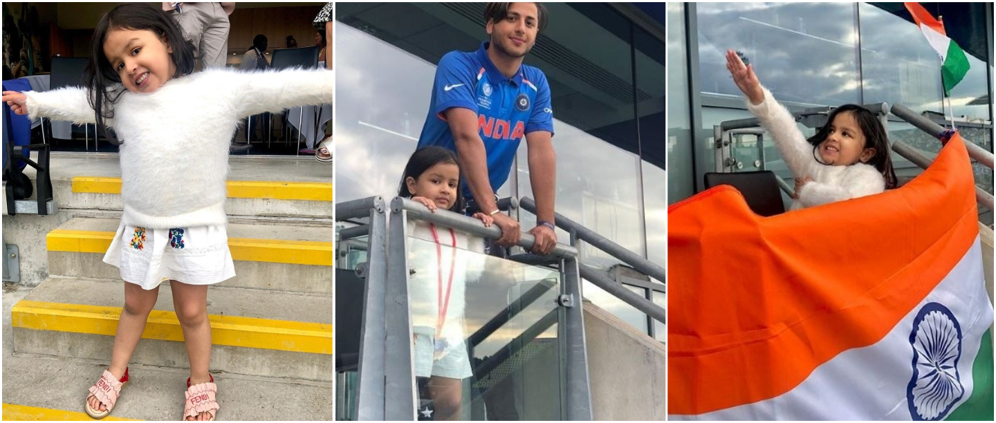 World Cup 2019: Ziva Cheering For Daddy Dhoni Is Cuteness Personified