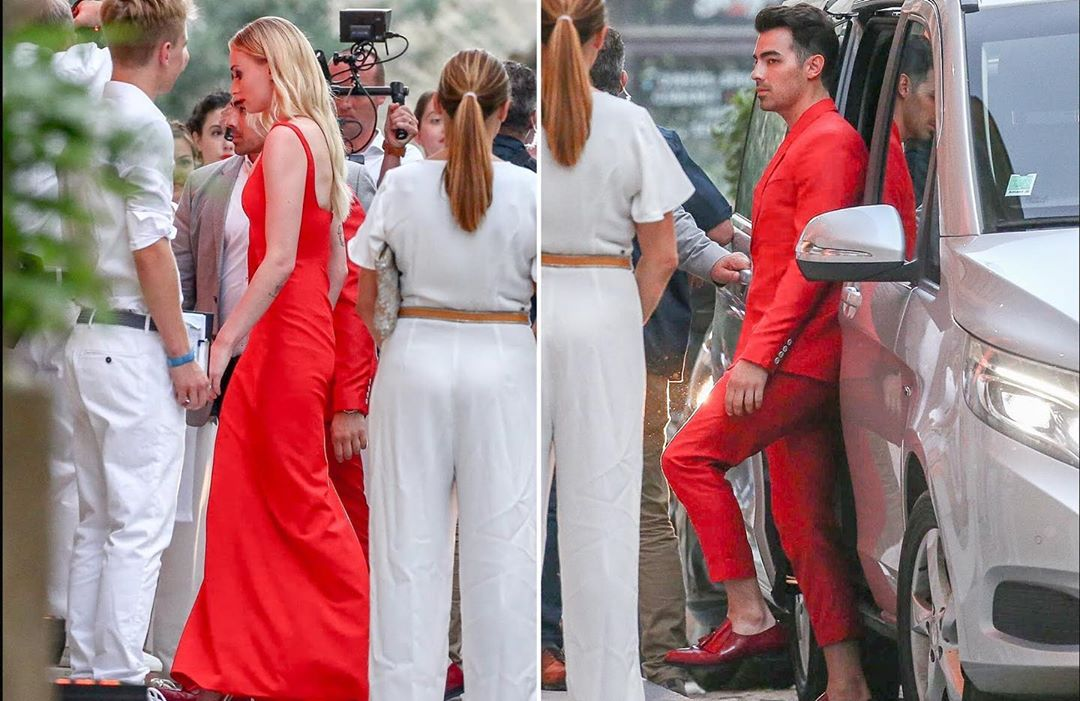 Oh-So-Dreamy: Joe Jonas & Sophie Turner's First Official Wedding Picture Is Here!