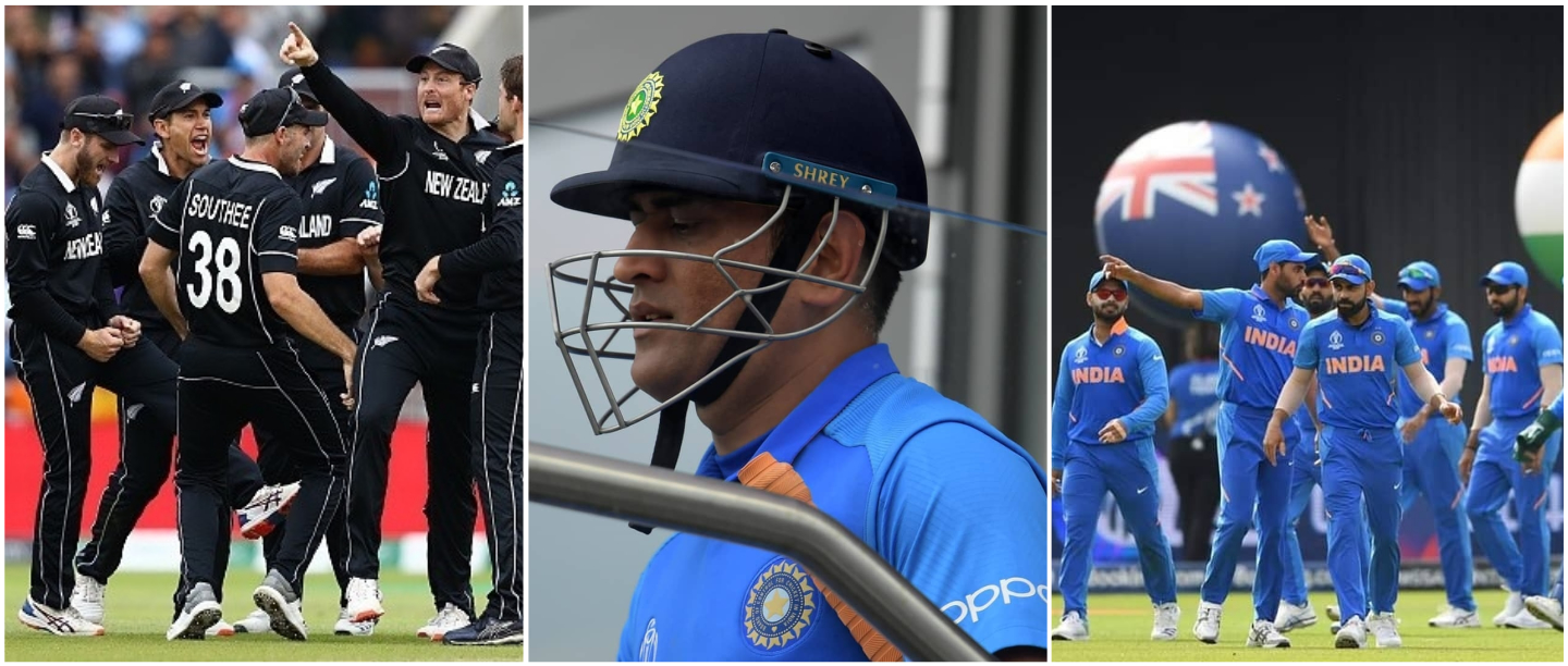 India Didn't Make It To The Cricket World Cup Final & Netizens Can't Keep Calm