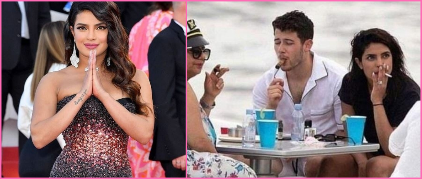 Let Her Be! Priyanka Chopra Trolled For Smoking After She Revealed She Has Asthma