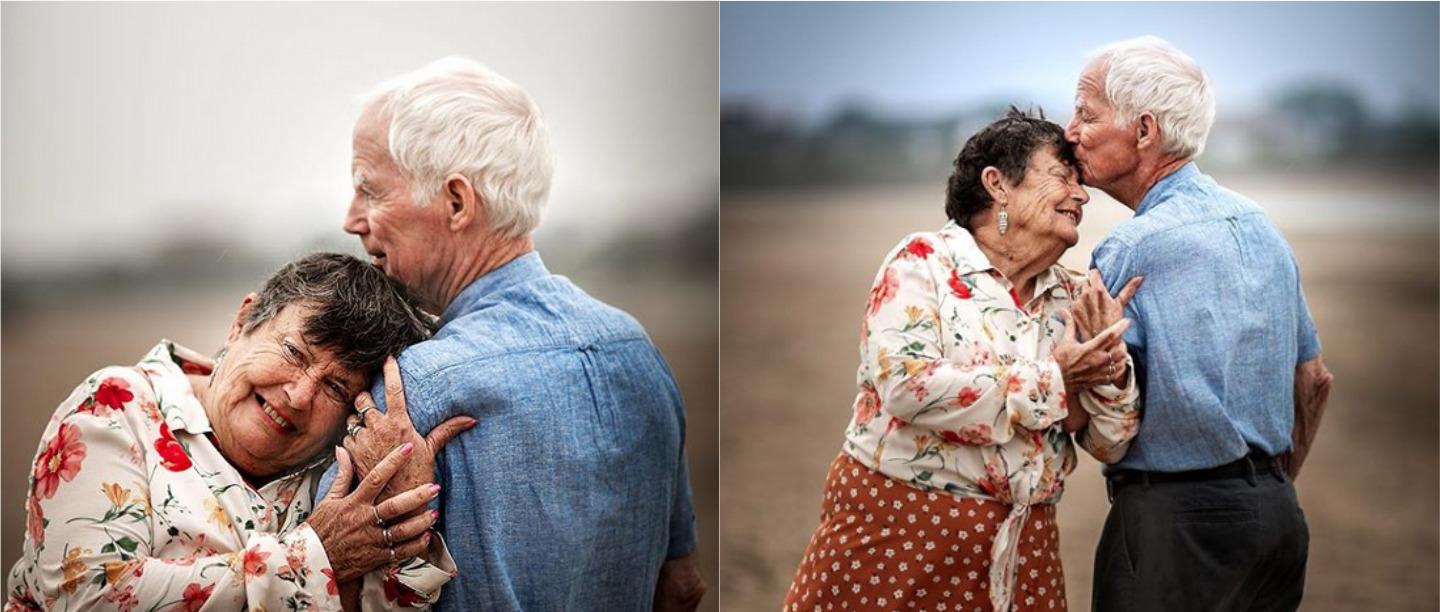 This Photographer's Heartwarming Pictures Of Elderly Couples Are Making Us Go AWWW